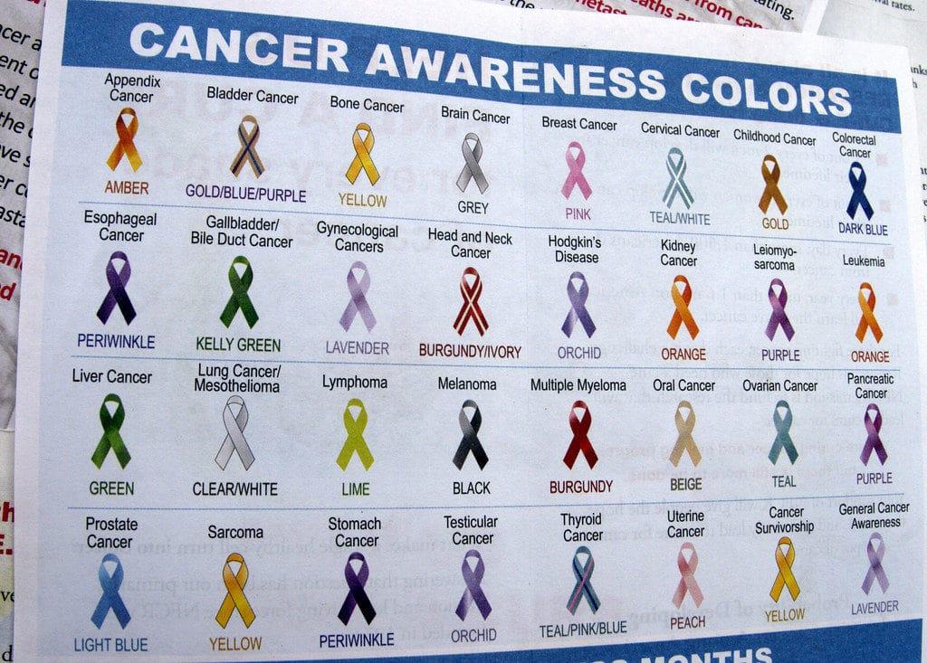 Steven Dombrowski Cancer Awareness Colors